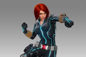 Art Black Widow