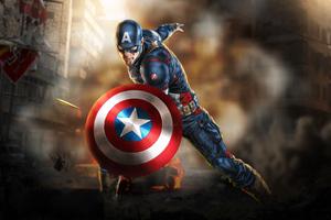 Art Captain America New