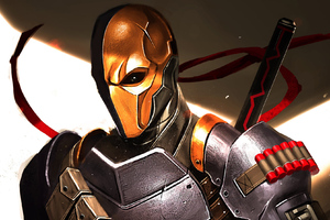 Art Deathstroke New Wallpaper
