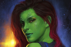 Art Gamora Wallpaper