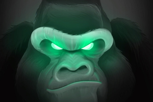 Art Gorilla Wallpaper