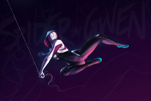 Art Gwen Stacy 4k Wallpaper