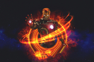 Art Iron Man Marvel Wallpaper