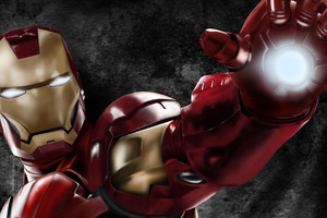 Art Iron Man New Wallpaper