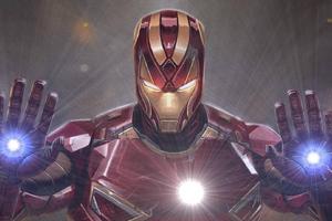 Art Iron Man Sketch