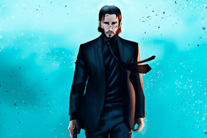 Art John Wick Wallpaper