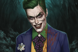 Art Joker Jared Leto