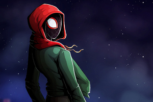 Art Miles Morales New Wallpaper
