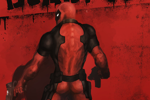 Art New Deadpool Wallpaper