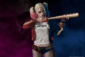 Art New Harley Quinn HD