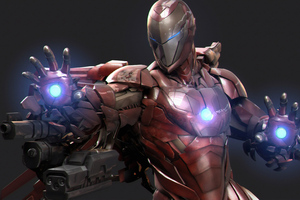 Art New Iron Man 4k