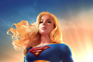 Art New Supergirl Wallpaper