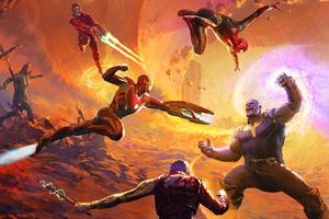 Art Of Avengers Infinity War Wallpaper
