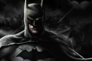 Art Of Batman Wallpaper