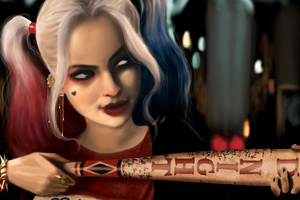 Art Of Harley Quinn