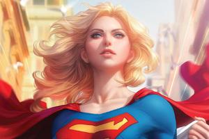 Art Of Supergirl
