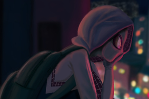 Art Spider Gwen Stacy