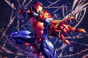 Art Spider Man