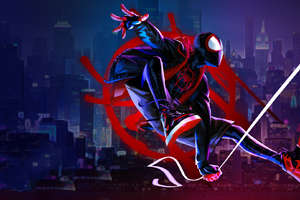 Art Spider Verse New Wallpaper