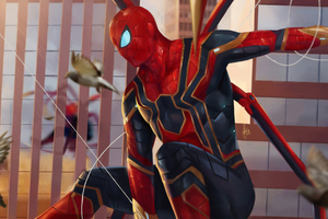 Art Spiderman 4k New