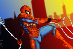 Art Spiderman 5k