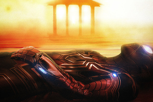 Art Spiderman Far From Home