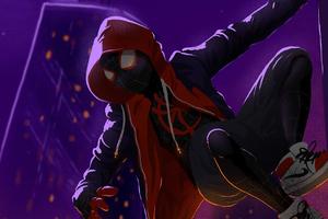 Art Spiderman Miles