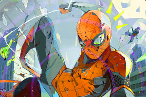 Art Spiderman New Art Wallpaper