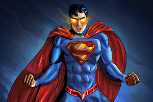 Art Superman New