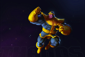 Art Thanos 4k Wallpaper