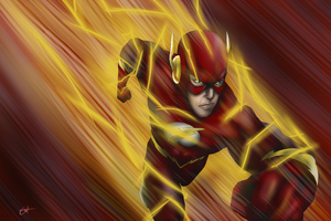 Art The Flash