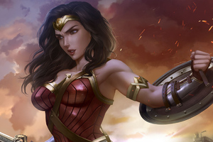 Art Wonder Woman Latest
