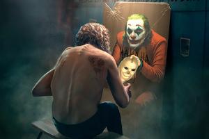 Arthur Fleck Become Joker Wallpaper