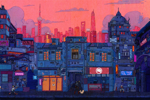 Artistic Cityscape 4k Wallpaper