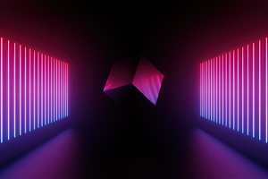 Artistic Cube Abstract 5k Wallpaper