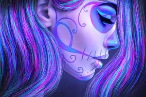 Artistic Girl Face