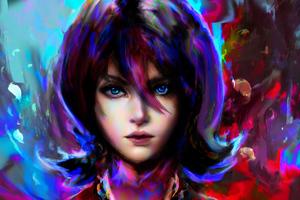 Artistic Girl Portrait 4k Wallpaper
