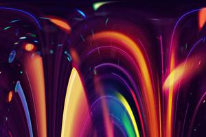 Artistic Lights Motion 4k Wallpaper