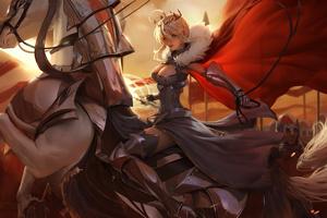 Artoria Lancer Fate Grand Order 4k