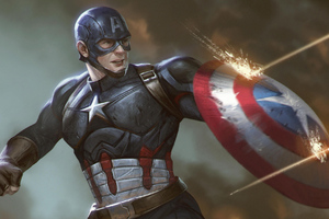 Arts Captain America