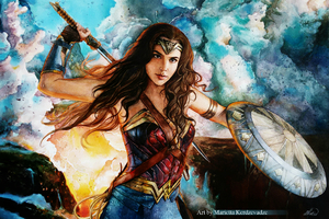 Arts Of Wonder Woman