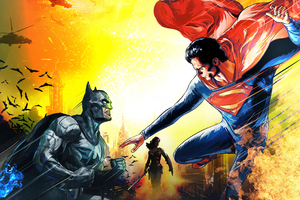 Artwork Batman V Superman 4k