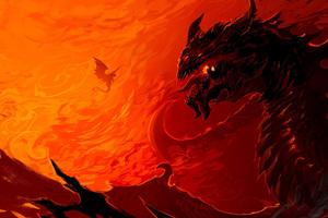 Artwork Dragon Fire
