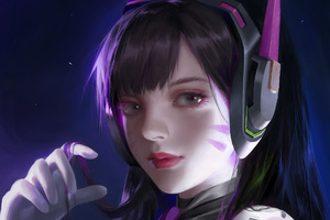 Artwork Dva Overwatch