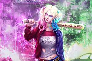 Artwork Harleyquinn