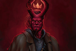 Artwork Hellboy 4k