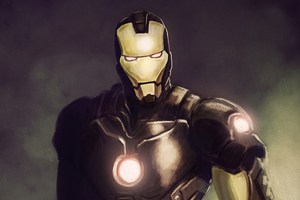 Artwork Iron Man New Wallpaper