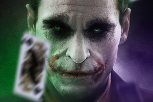 Artwork Joker Joaquin Phoenix 4k Wallpaper