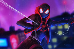 Artwork Miles Morales Wallpaper