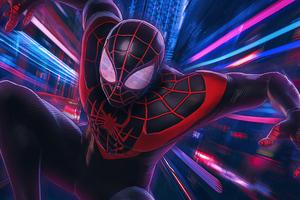 Artwork Spider Man Miles 2020